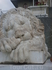 первый(спящий) левушка у одного из входов в воронцовский дворец