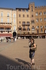 Площадь Кампо в окружениии  дворцов и разделена на девять сегментов,расходящиеся лучами  от  центра  веером.