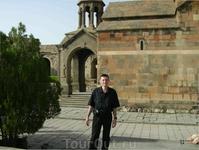 12 августа 2009. монастырь Хор Вирап.