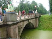 Пушкин, Александровский парк, Большой Китайский мост