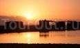 Закат в Голубой Лагуне