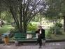 В парке на территории ДК моряков. Перекус во время перерыва на семинаре