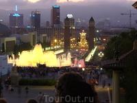Поющие фонтаны.. наверно это видел каждый, кто побывал в Барселоне.