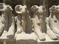 Аллея Карнакского храма