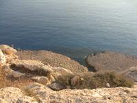 Cape Greco_теперь смотрим вниз_ух, как высоко забрались ))