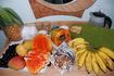 фруктовый натюрморт (мы всё это слопали)))