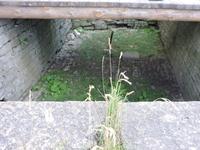 Ров перед воротами в крепость