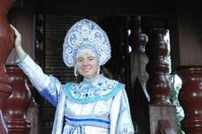 В кремле можно сфотографироваться в исторических костюмах.