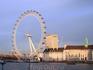 Немного прошлась до Темзы, чтоб полюбоваться Лондонским глазом со стороны Вестминстерского моста.