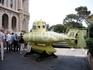 Субмарина Жака Ив кусто перед Океанографическим музеем