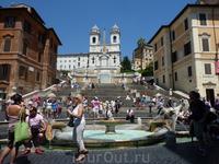 Мое самое любимое место в Риме - площадь Испании..