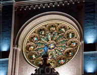 по ночной Ницце,ул. Jean Medecin,церковь Нотр-Дам,фрагмент