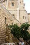 Скульптура царя Давида.Гора Сион.