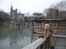 Замок и пруд в ЦП