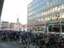 Копенгаген. Таких велопарковок очень много в городе.