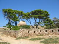 Территория крепости.