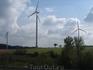 Эти ветряные мельницы я фоткала всю дорогу =)