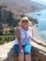 На пляж можно на кораблике за 10 евро добраться,а мы решили пешком спуститься,вид потрясный!Н в жару и по камням...Обратно до автобуса только морем!
