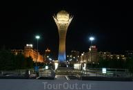 Вечерняя Астана.