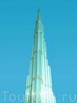 Burj Khalifa - самый высокий небоскреб в мире. Его высота 828 м. Первые 39 этажей занимает Armani Hotel Dubai и аутлеты Armani. Имеется смотровая площадка на 124 этаже. Вход на нее стоит 100 дирхамов.