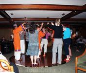 Танцуем с нубийцами на корабле
