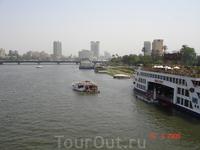 Река Нил в Каире.