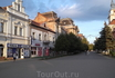 """Здание бывшей гостиницы """"Львиный двор"""" . Берегово."""