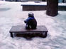 Самый маленький и любимый шведами памятник - памятник Нильсу из сазки про Нильса и гусей. Шведы трепетно к нему относятся и зимой одевают на него шарфики ...