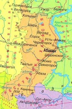 карту хакасии скачать бесплатно - фото 3