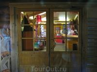 Дом Санта-Клауса закрыт