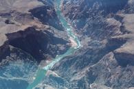 Гранд каньон из вертолета. Страшно и волнующе