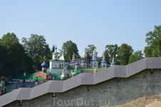 Псковская область, Псково-Печерский монастырь. Чудо природы, веры и силы духа человеческой.