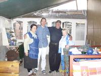 начинаем с посещения кафе наших старых и хороших знакомых Руслана и Айше (самое гостеприимное и хлебосольное кафе на Ай-Петри).