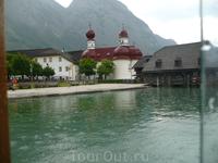 Как резко меняется погода!Это Баварские горы!Пока пили пиво и монастырское вино с копченой форелью  ,выловленной только что из озера  и закопченной на ...