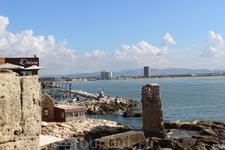 Руины древнего Акко.