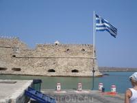 Крепость в порту