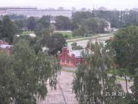 Музей воды. Виды из окна  седьмого этажа