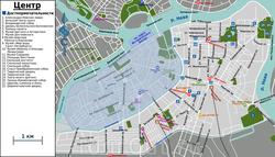 Карта музеев Петербурга