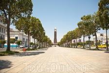 г.Тунис,главная улица Rue de France