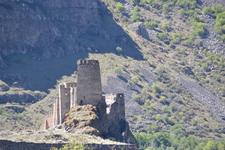 Хертвиси.Руины крепости