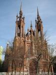 Легендарный польский католический костел Пресвятого Сердца Иисуса в лучших стилях западного зодчества