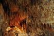 Оранжевый,желтый,коричневый,белый, преобладающие цвета в пещере.