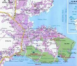 Карта Даляня