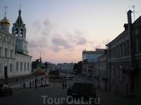 Спуск от Ивановской башни