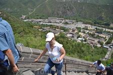 На Великой Китайской Стене