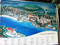 Карта острова Vinperl