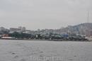 Спортивная гавань, вид с Амурского