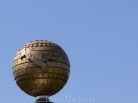Ташкент. Глобус Узбекистана