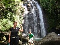 водопады на острове Панай