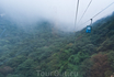 канатная дорога на гору Сонг чуть менее трех километров